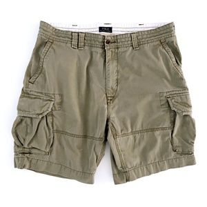 Polo Ralph Lauren Men's Green Cargo Shorts Size 42